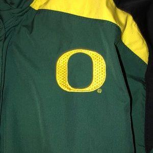 Oregon NikeFitStorm(M) Track&Field Windbreaker